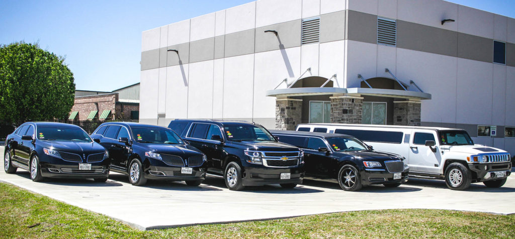 fleet of vehicles - sedans, suv, limo, hummer limo