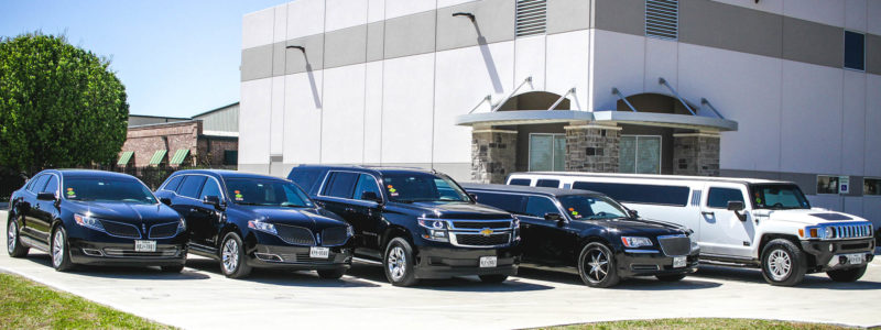 fleet of vehicles - sedans, suv, limo, hummer limo